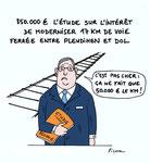 Travaux SNCF : 850 000€ pour une Etude!
