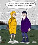 La Bretagne et la pluie...