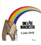 One Love Manschester  : Over the Rainbow Ariana Grande