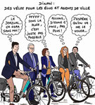 Des vélos pour les élus de Dinan !