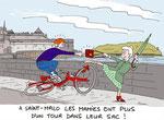 A Saint Malo les mamies font du Self défense !
