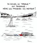 Au Guildo le paddle est tendance !