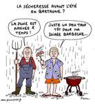 La sécheresse en Bretagne  !?