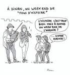 Un week end de fous d'Histoire à Dinan