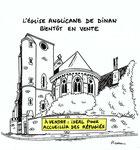 L'église Anglicane de Dinan bientôt en vente...