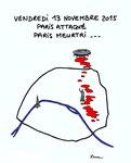 Attentats sanglants à Paris! Vendredi 13 Novembre 2015