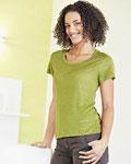T-Shirt aus 100% Hanf-Jersey