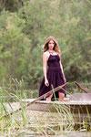 Kleid aus 95% Bio-Baumwolle und 5% Elasthan
