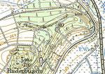 Erst 1978 erkennt man in der TK 25-Karte eine kleine Basaltgrube im nördlichen Teil des Berges.