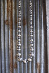 COIN & SILVER BEADS NECKLACE