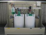 Dosierstation für Kessel-Wasseraufbereitung, Dosierdruck bis ca.200bar