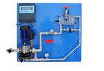 Meßanlagen Wandtafel pH-Redox-Chlor-Durchfluß, etc.