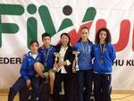 Brando, Leonardo, M* Xu, Valentina ai Campionati Italiani Assoluti - Maggio 2014