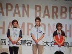 表彰式 第3部門 敢闘賞(第7位) 東 幸範選手