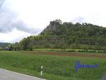 P5170009 Burg Werenwag bei Hausen i.T.  im Donautal (Südseite)