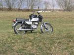 Die neue Kleine - Yamaha RS 100, Baujahr 1980