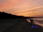 P8201126 Sonnenuntergang am Strand von Zempin