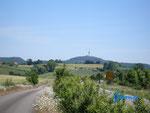 """P6180006    Blick von Westen auf den Motorrad-Treffpunkt """"Köterberg"""" im Lipper Land"""