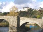 PA230015 Die Lahn in Runkel mit Blick auf die Burg Schadeck