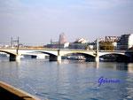 Pb020003 Südfrankreich Brücke über die Rhone in Lyon