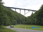 """P8050025       Neue Autobahnbrücke über das Tal der """"Wilden Gera"""" kurz vor 99330 Gräfenroda"""