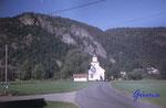 DS 23-09-2000 Norwegen, Vest - Agder,  Kirche von Kvas