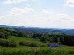 P5240358 Blick über St. Andreasberg auf die südlichen Harzberge.