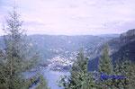 DS 19-1-2000 Norwegen, Vest - Agder,Blick auf den Fedaffjorden und Öyesanden