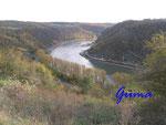 PA260024 Blick vom Loreley-Felsen auf den Rhein
