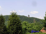 P5310410   Das Kaiser Wilhelm-Denkmal am Osthang des Wittekindsberges von Westen gesehen