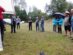 DSCI0496 Siegerehrung HC-Trial Preetz am 07.08.2021 links in bunter Bekleidung  Björn Schmüser
