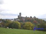 Pa230004 Burg Greifenstein 1. Immer wieder ein herrlicher Anblick - die gewaltige Burg Greifenstein im Westerwald.