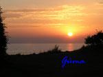 P8281183 Sonnenuntergang an der Ostsee von Blankeck Richtung Kiel gesehen