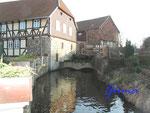 #1-1111-11012 Hornburg, Zulauf zum Wasserrad an der Hagenmühle, Mühlenilse