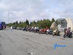 """P 8160004    ehemaliger Motorradfahrer-Treffpunkt am """"Torfhaus"""" /Harz"""