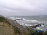 P9030832 stürmisches Wetter an der Ostsee bei Blankeck/Howachter Bucht