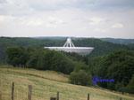 P6300014 Radioteleskop Effelsberg des Max-Plank-Instiutus.  100 Meter Durchmesser - zweitgrösstes Radioteleskop der Welt!