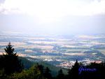 P8030001. Blick vom Inselsberg ins westliche Thüringer Becken 2.