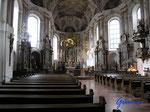 P4100173 in der Mainzer Altstadt Innenraum der Augustinerkirche (Seminarkirche) in Mainz