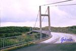 DS 2-2-2000 Norwegen, Vest - Agder, Brücke über den Hidrasunder zur Insel Hidra