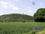 P5310409   Das Kaiser Wilhelm-Denkmal am Osthang des Wittekindsberges von Westen gesehen
