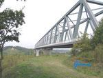 P82340003 Die  Hochbrücke über den Nord-Ostsee-Kanal bei Albersdorf, 25767 Albersdorf