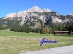 PA221445  im Tannheimer Tal - Blick auf den Gimpel