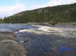 """P8190719  am Fluß bei Ånebjør/4745 Bygland Norwegen/Vestagder  mein """"Land der rauschenden Wasser"""""""