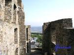 2-211-21104 Blick von Burg Greifenstein. Ein wunderschöner Ausblick von der Burg Greifenstein in das Gebiet des nördlichen Westerwaldes