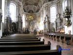 P4100174 in der Mainzer Altstadt Innenraum der Augustinerkirche (Seminarkirche) in Mainz