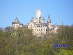 P4130290 Schloss Marienburg 3. Erbaut 1858 - 1867.Gehört der Familie des Ernst August von Hannover
