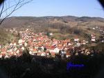 P3211560 Blick auf  Bad Liebenstein/Thr.