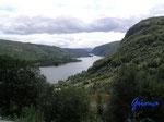 P8190704 unterhalb von Ljosland bei Aseral/Norwegen/Vestagder Blick über Tjønna