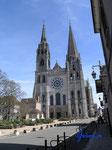 P4170252  Kathedrale von Chartres/Frankreich - Westansicht